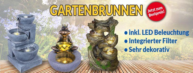 Dekorative Gartenbrunnen und Zimmerbrunnen