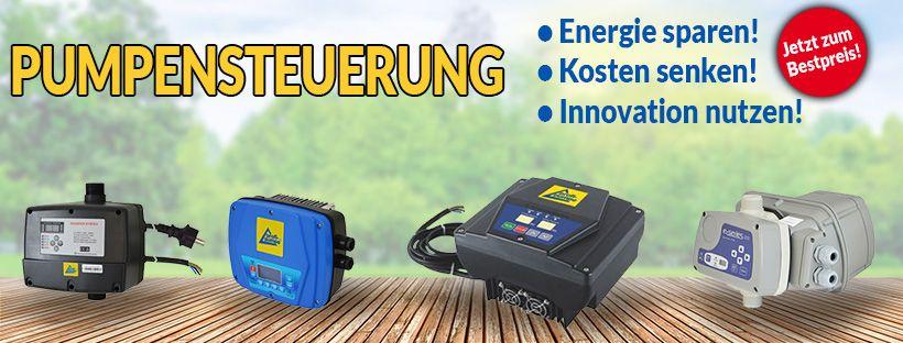 Pumpensteuerung - Inverter für verschiedene Pumpen