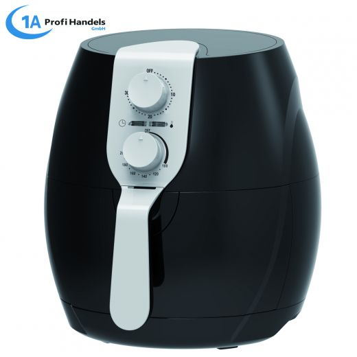 Heißluft-Multifritteuse ECO AIR-PROFI 1400W, schwarz