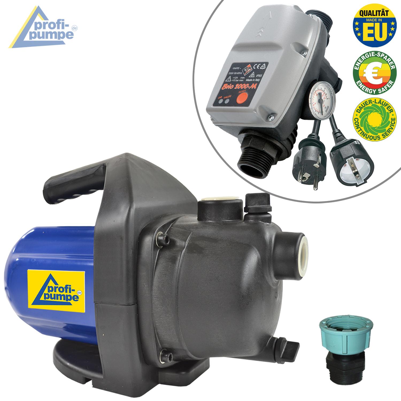 pumpe hauswasserwerk inno tec 1200 1 mit durchflussw chter brio automatic controller verkabelt. Black Bedroom Furniture Sets. Home Design Ideas