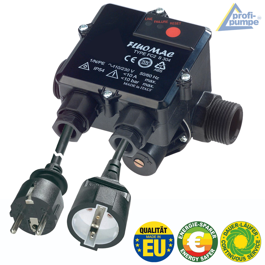 Durchflusswächter FLUOMAC® Automatic-Controller, verkabelt