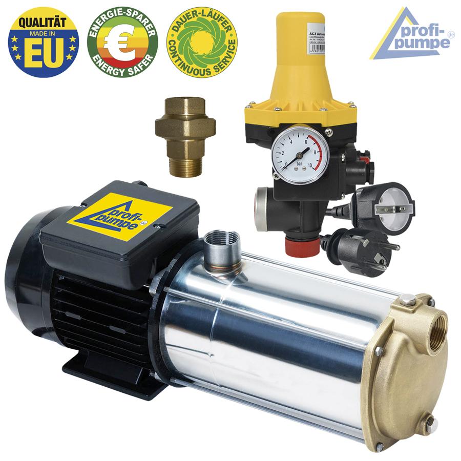 pumpe hauswasserwerk inno-tec 1000 selbstansaugende mehrstufige