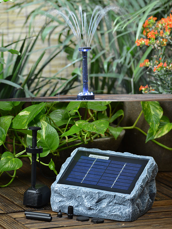 solar teichpumpe set r gen 200. Black Bedroom Furniture Sets. Home Design Ideas