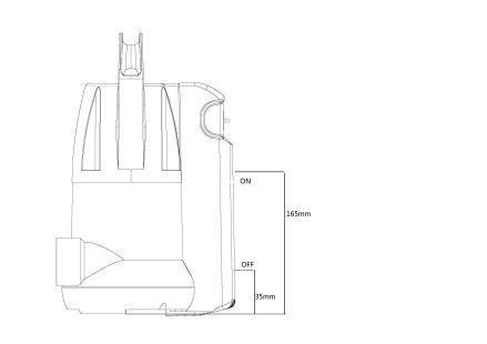 tauchpumpe regenwasserpumpe klarwasser gartenpumpe pumpe wasserpumpe garten ebay. Black Bedroom Furniture Sets. Home Design Ideas