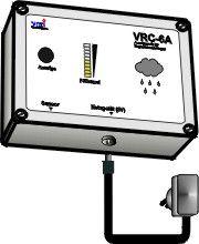 Steuerung für Regenwasser-Nutzungs-Anlagen Typ VRC-6A (für die Wandmontage)