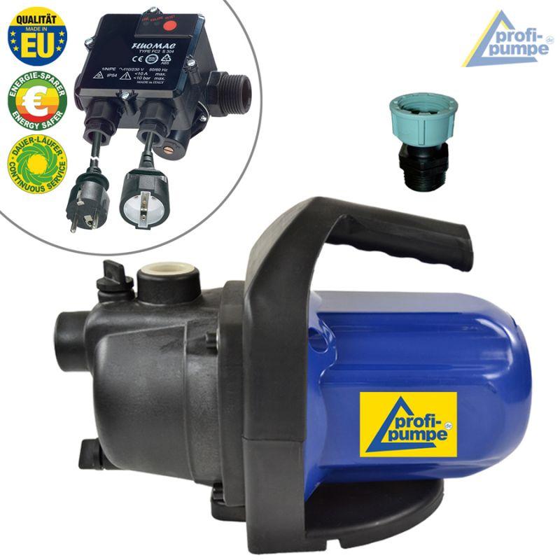 Pumpe Hauswasserwerk INNO-TEC 1200-1 mit FLUOMAC® -Automatic-Controller verkabelt
