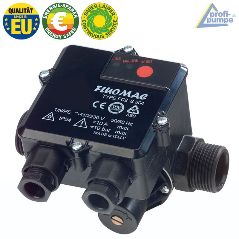 Durchflusswächter FLUOMAC®  Automatic-Controller unverkabelt