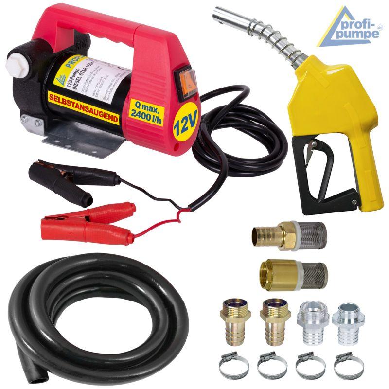 Set Diesel Star 160-4 - 12V-Pumpe mit Zubehör