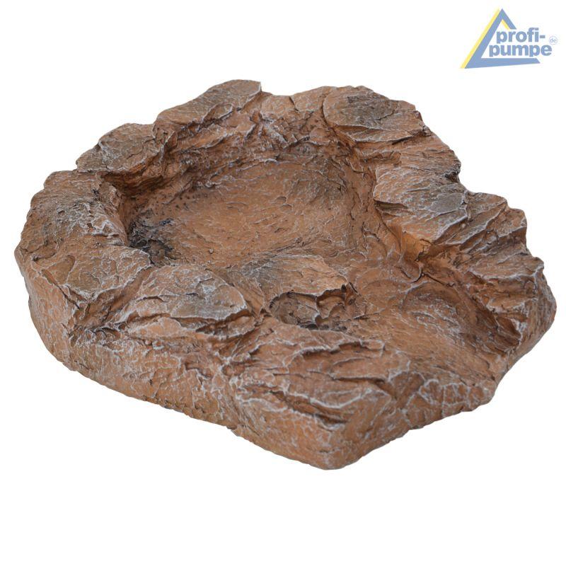 Bachlauf QUELLBACH II sand-stein - Oberste Schale mit Pumpenanschluß