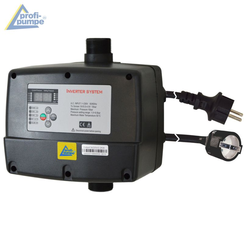 INVERTER-Pumpensteuerung 3-2,2KW verkabelt (IPC-3-V)