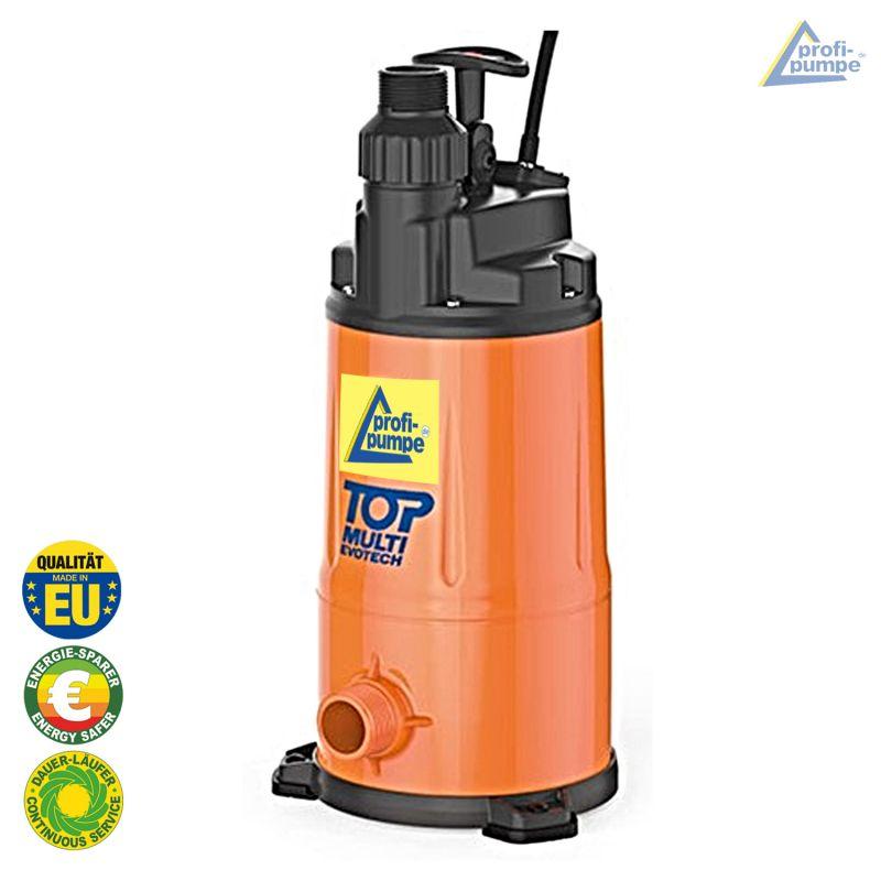 Automatik Tauchdruckpumpe für schwimmende Entnahme (mit Schaltgerät) TOP MULTI-EVOTECH 2