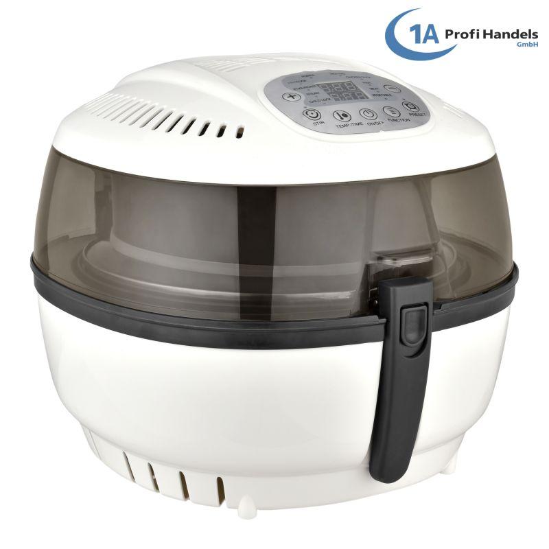 Heißluft-Multifritteuse Multibackofen & Suppenautomat & Reiskocher & Grill ECO AIR-PROFI SOUP DC-1400W, weiß