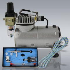 Profi-AirBrush Kompressor Compact Set I