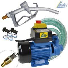 B-Ware Diesel Profi 600-02 Pumpe mit Saug- und Druckschlauch, Pistole und Zubehör