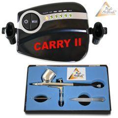 Profi-AirBrush Carry II - Double-Action-Gun 180 D 0,2mit Zubehörauswahl