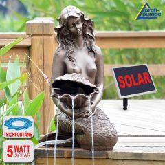 B-Ware Teichpumpen-Set Solar Meerjungfrau