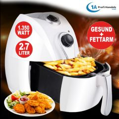 Hei�luft-Multifritteuse ECO AIR-PROFI 1350W, wei�