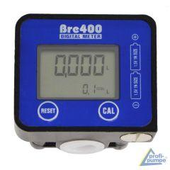 Diesel - Wasser Digital-Durchflußmesser BRE400 190L/min