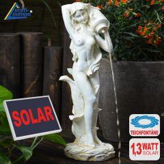 B-Ware Solar - Brunnen MUSE mit WASSERKRUG
