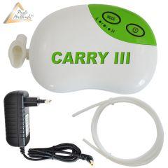 Profi-Airbrush Kompressor Carry III mit Druckschlauch / Netzteil