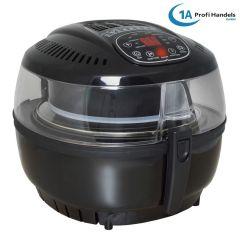 Heißluft-Multifritteuse Multibackofen & Suppenautomat & Reiskocher & Grill ECO AIR-PROFI SOUP DC-1400W, schwarz