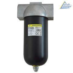 Diesel-Filter mit Alu-Gehäuse und wiederverwendbarem Siebeinsatz