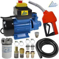 Set Dieselpumpe Profi 600-4 230-V-Pumpe mit Zubehör-Paket 3