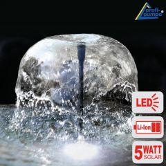 B-Ware Teichpumpen-Set Solar Oasis 500-3 Li&LED