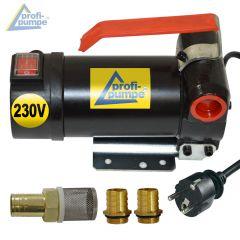 B-Ware Diesel Star 160-4 - 230V-Pumpe ohne Zubehör, mit 2Stk Tüllen