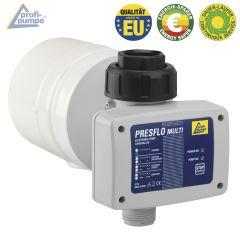 Durchflusswächter PRESFLO-2-MULTI® - Automatic-Controller unverkabelt mit intelligenten Selbst-Überwachungsfunktionen