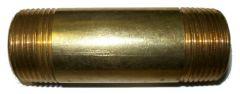 Doppelnippel Messing 1 Zoll AG auf 1 Zoll AG, Länge 90mm