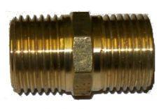 Übergangsstück Messing 1/2 Zoll AG auf 1/2 Zoll AG Länge: 36mm
