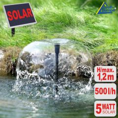 Solar Teich-Set Oasis 500-1