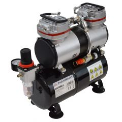 B-Ware Profi-AirBrush Kompressor DUO-Power II