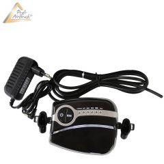 B-Ware Profi AirBrush Kompressor Carry II Black mit Druckschlauch / Netzteil