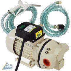 Set AdBlue® 230V-Pumpen-Set, selbstansaugend, mit Saug- und Druckschlauch, Adblue-Zapf-Pistole und Zubehör
