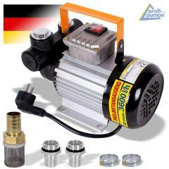 Diesel STANDARD-4 Selbstansaugende Pumpe mit Vorfilter und 2 Stck Tüllen