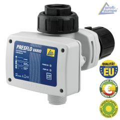 Durchflusswächter PRESFLO-2-VARIO® - Automatic-Controller unverkabelt mit intelligenten Selbst-Überwachungsfunktionen