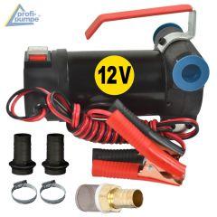 Diesel Star 160-1-4 - 12V-Pumpe ohne Zubehör, mit 2Stk Tüllen, 2Stk Schellen