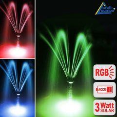 Solarpumpe Oslo 300-4 Light + Remote (RGB)