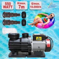 Schwimmbadpumpe POOL-STAR 370W-1