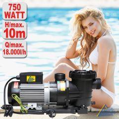 Schwimmbadpumpe POOL-STAR 750W-1