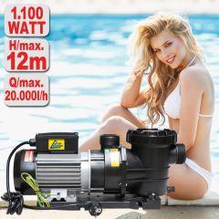 Schwimmbadpumpe POOL-STAR 1100W-1