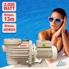 Schwimmbadpumpe POOL-STAR 2000W-380V-1