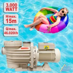 Schwimmbadpumpe POOL-STAR 3000W-380V-1