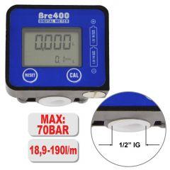 Diesel / Wasser / Öl/ Adblue - Digital-Durchflußmesser BRE400 190L/min