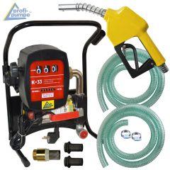 Diesel Power 600-4-1  Pumpe mit Zähler, Saug- und Druckschlauch, Automatik-Zapf-Pistole und Zubehör