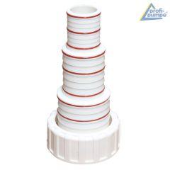 Stufenschlauchtülle für Schwimmbadpumpe POOL-STAR  1500W-230V / 2000W-230V / 1500W-380V / 2000-380W / 3000-380W
