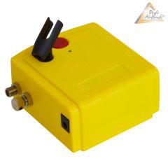 B-Ware Profi-Airbrush Kompressor Carry I mit Druckschlauch / Netzteil