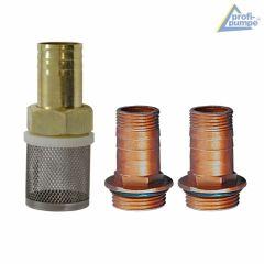 Diesel STANDARD-4 Selbstansaugende Pumpe mit 2 Tüllen